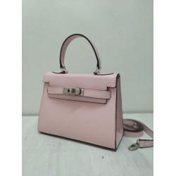 Pink kelly bag