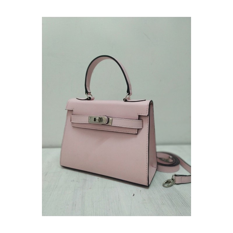 Pink kelly bag