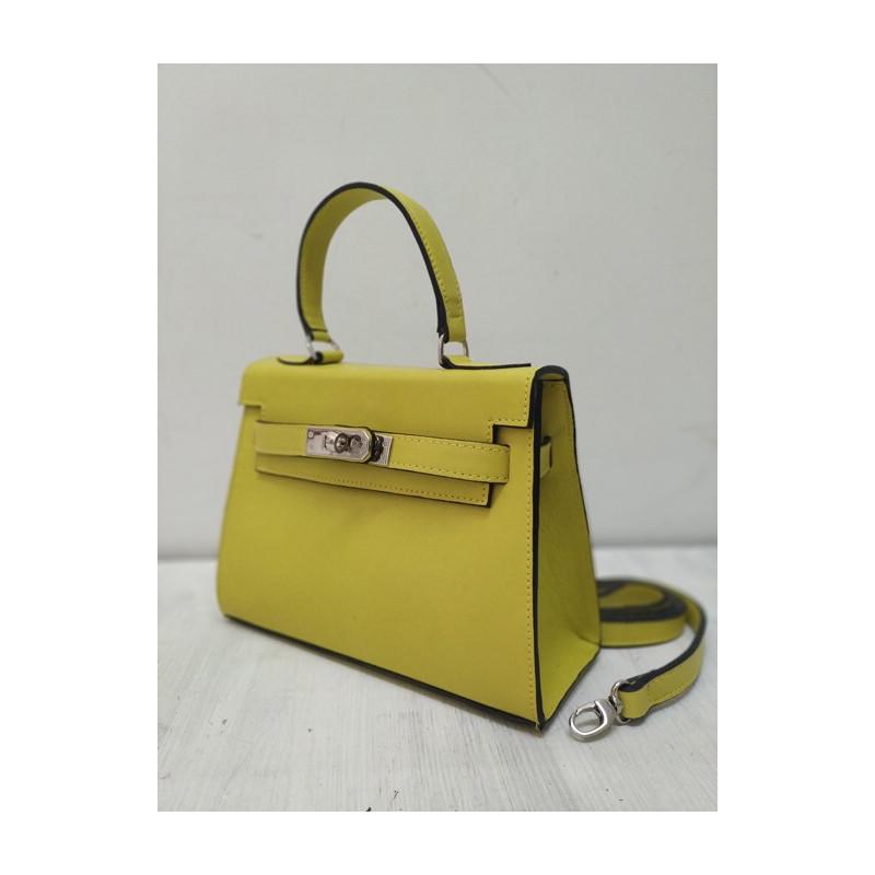 Bolso amarillo kelly