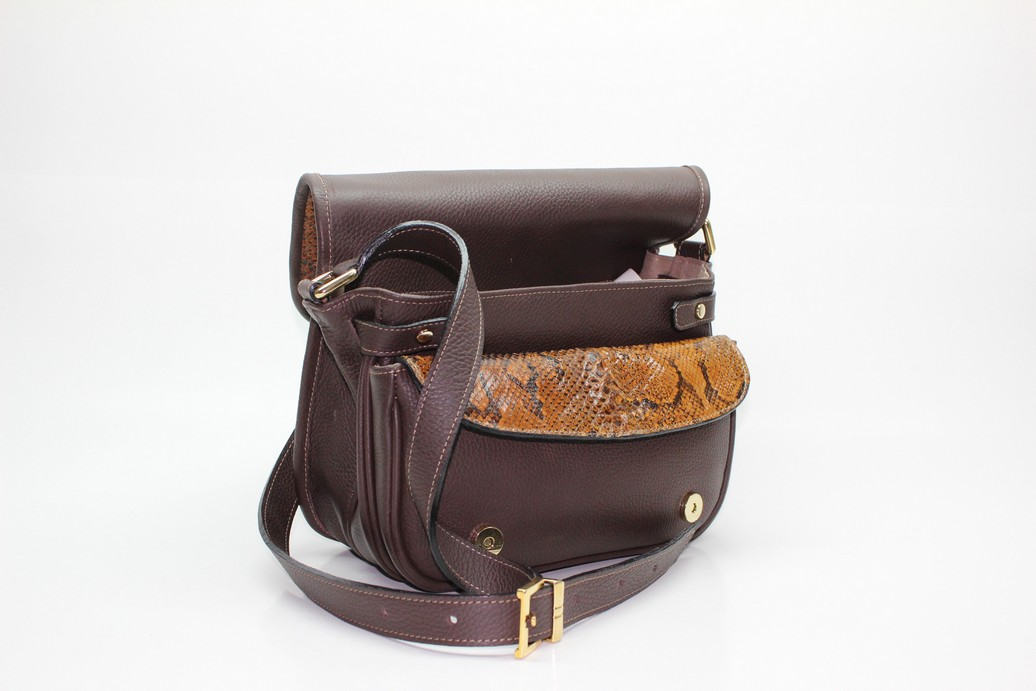 Fixed leather bags