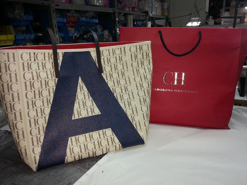 Carolina Herrera custom bags