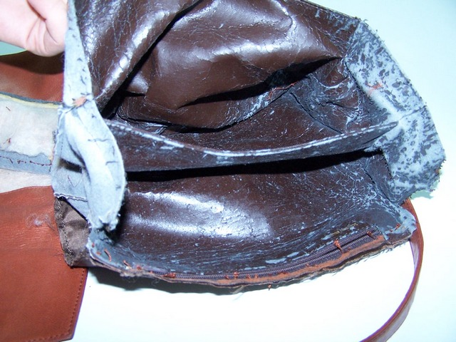 leather bags linining